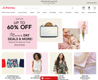 Access jcpenney.com using Hola Unblocker web proxy