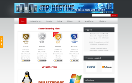 Access jdrhost.com using Hola Unblocker web proxy