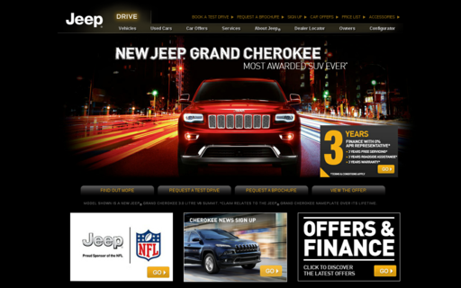 Access jeep.co.uk using Hola Unblocker web proxy