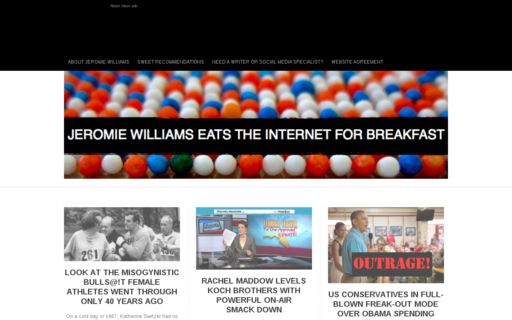 Access jeromiewilliams.com using Hola Unblocker web proxy
