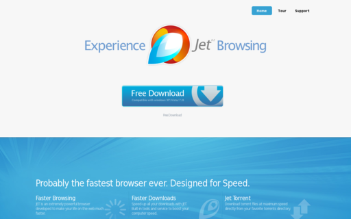 Access jetbrowser.com using Hola Unblocker web proxy