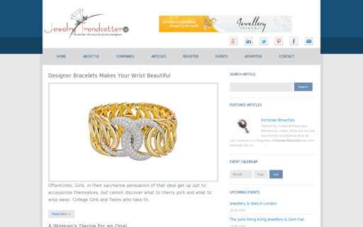 Access jewelrytrendsetter.com using Hola Unblocker web proxy