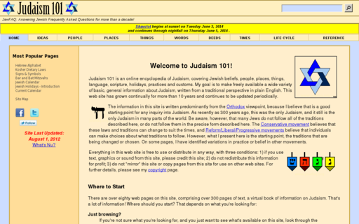 Access jewfaq.org using Hola Unblocker web proxy