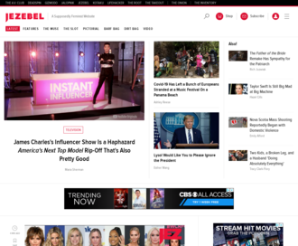 Access jezebel.com using Hola Unblocker web proxy