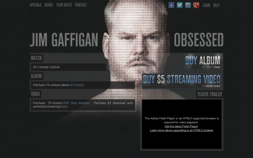 Access jimgaffigan.com using Hola Unblocker web proxy