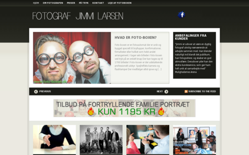 Access jimmilarsen.dk using Hola Unblocker web proxy