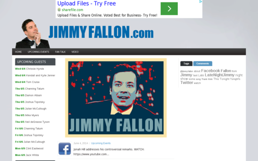 Access jimmyfallon.com using Hola Unblocker web proxy