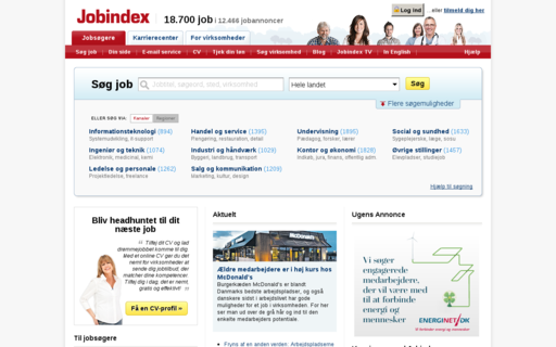 Access jobindex.dk using Hola Unblocker web proxy