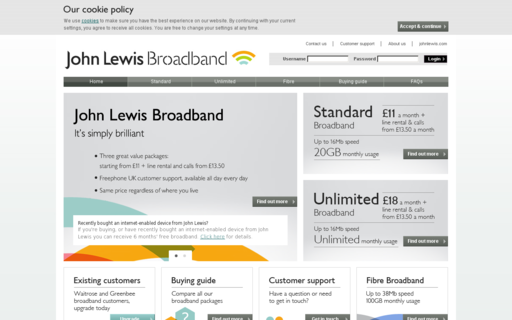 Access johnlewisbroadband.com using Hola Unblocker web proxy