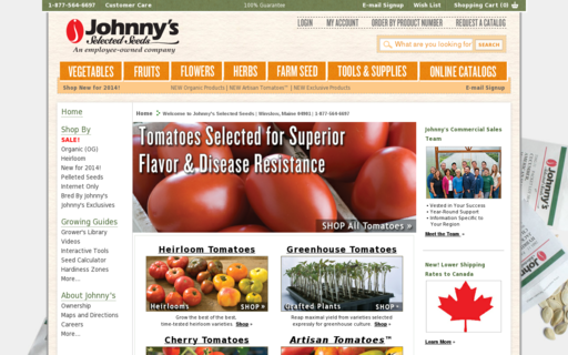 Access johnnyseeds.com using Hola Unblocker web proxy