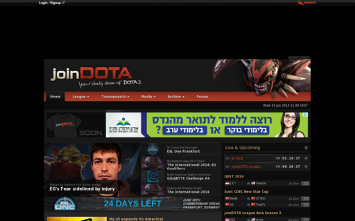 Access joindota.com using Hola Unblocker web proxy