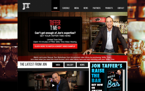 Access jontaffer.com using Hola Unblocker web proxy