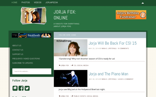 Access jorjafox.net using Hola Unblocker web proxy