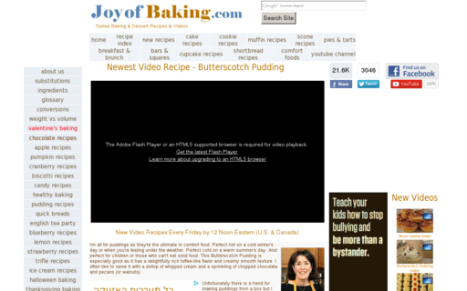 Access joyofbaking.com using Hola Unblocker web proxy