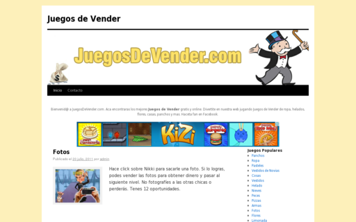Access juegosdevender.com using Hola Unblocker web proxy