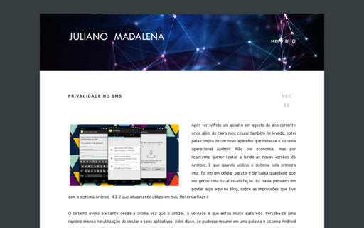 Access julianomadalena.com using Hola Unblocker web proxy