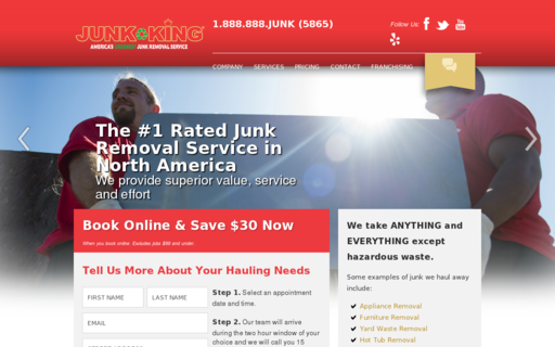 Access junk-king.com using Hola Unblocker web proxy
