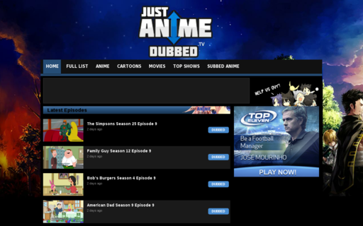 Access justanimedubbed.tv using Hola Unblocker web proxy