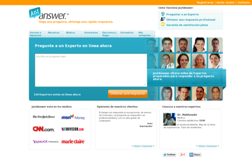 Access justanswer.es using Hola Unblocker web proxy