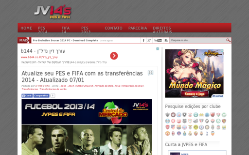 Access jvpesefifa.com using Hola Unblocker web proxy