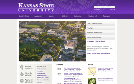 Access k-state.edu using Hola Unblocker web proxy