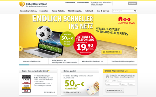 Access kabeldeutschland.de using Hola Unblocker web proxy