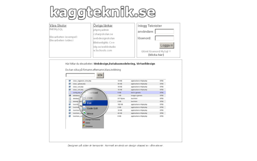 Access kaggteknik.se using Hola Unblocker web proxy