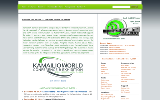 Access kamailio.org using Hola Unblocker web proxy