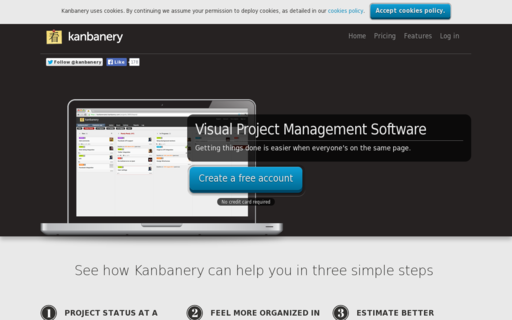 Access kanbanery.com using Hola Unblocker web proxy
