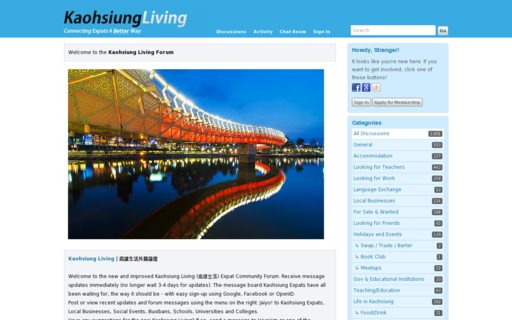 Access kaohsiungliving.org using Hola Unblocker web proxy