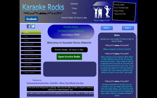 Access karaoke-rocks.com using Hola Unblocker web proxy