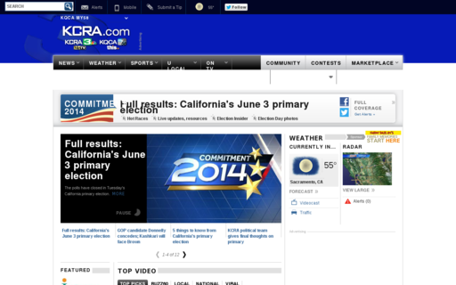 Access kcra.com using Hola Unblocker web proxy
