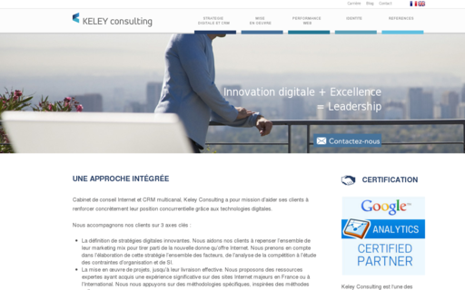 Access keley-consulting.com using Hola Unblocker web proxy