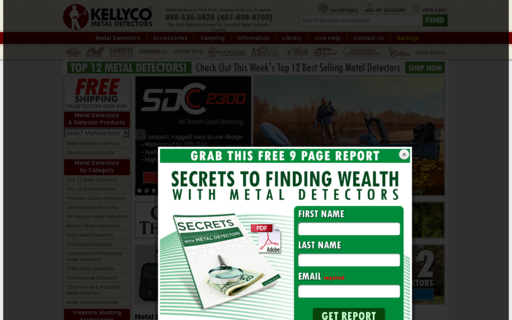 Access kellycodetectors.com using Hola Unblocker web proxy