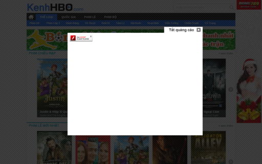 Access kenhhbo.com using Hola Unblocker web proxy