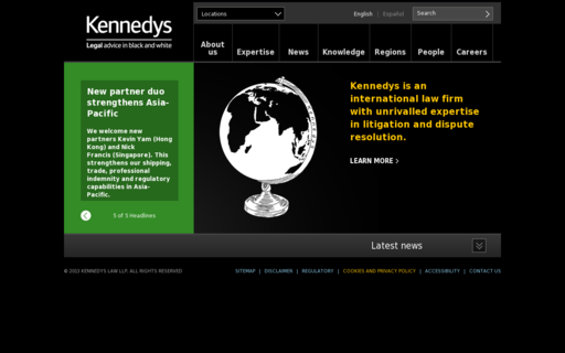 Access kennedys-law.com using Hola Unblocker web proxy