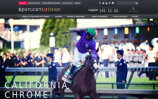 Access kentuckyderby.com using Hola Unblocker web proxy