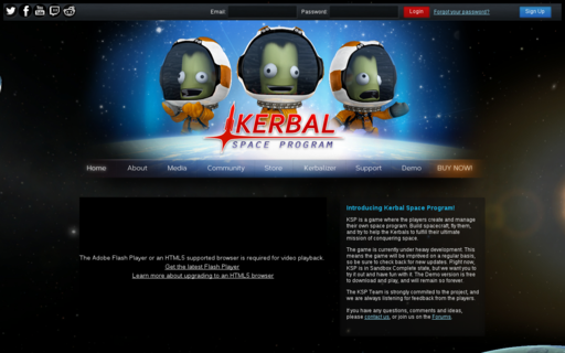 Access kerbalspaceprogram.com using Hola Unblocker web proxy