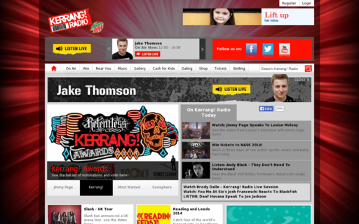 Access kerrangradio.co.uk using Hola Unblocker web proxy