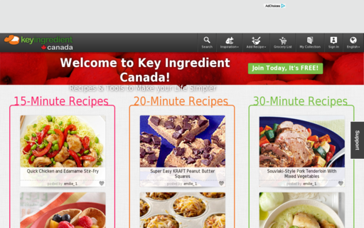 Access keyingredient.ca using Hola Unblocker web proxy