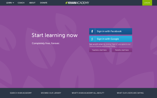 Access khanacademy.org using Hola Unblocker web proxy
