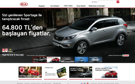 Access kia.com.tr using Hola Unblocker web proxy