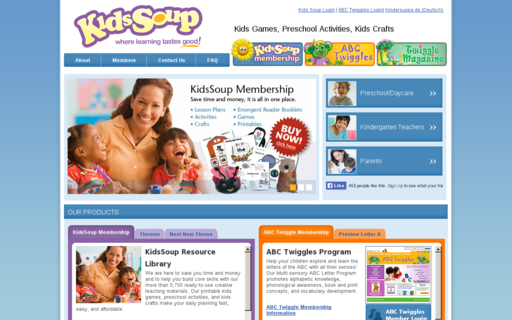 Access kidssoup.com using Hola Unblocker web proxy