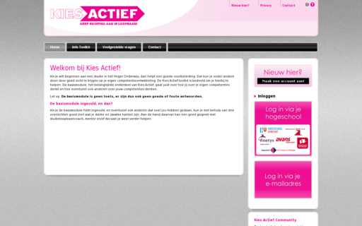 Access kiesactief.nl using Hola Unblocker web proxy
