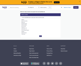 Access kijiji.ca using Hola Unblocker web proxy