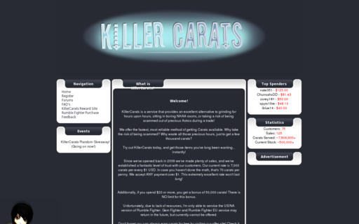 Access killercarats.com using Hola Unblocker web proxy