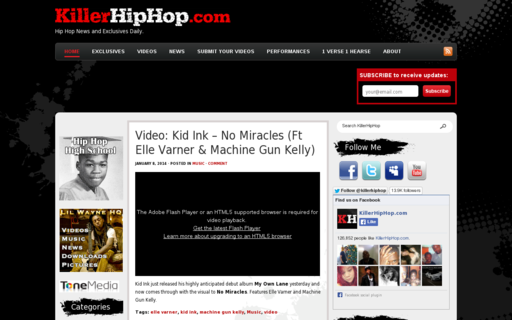 Access killerhiphop.com using Hola Unblocker web proxy