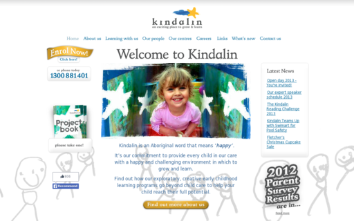 Access kindalin.com.au using Hola Unblocker web proxy