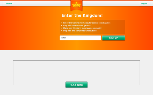Access king.com using Hola Unblocker web proxy