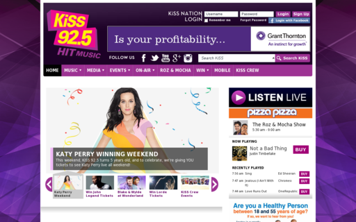 Access kiss925.com using Hola Unblocker web proxy